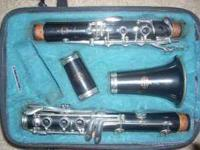 This clarinet is in excellent condition, has only been