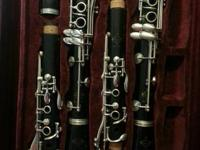 I am offering two Buffet R13 professional clarinets,