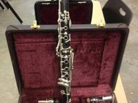 Item 1($800) Buffett R13 Professional Bb Clarinet comes
