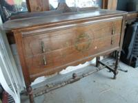 Buffet Table (Oak) 2-Drawer. $160.00. (any kind of