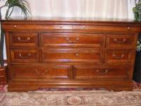 I have this large cherry dresser for sale. It is in