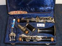 Buffett Clarinet with hard case. Made in W. Germany.