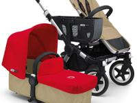 The Bugaboo Donkey is the convertible stroller for