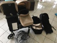 Bugaboo Donkey Duo in sand and black 2 Seats 2