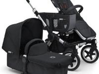 Bugaboo Donkey Twin-All Black(Special Edition)