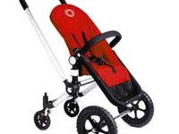 we are selling a red BugaBoo Frog stroller,in good