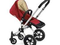 Bugaboo Stroller -- Red 2007 Comes with bassinet