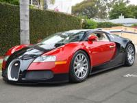 This 2006 Bugatti Veyron 2dr 16.4 AWD Coupe features a