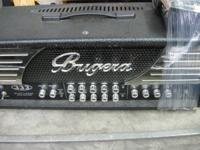 NICE USED AMPHEAD. BUGERA AMPLIFIER FOR SALE. IN GREAT