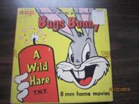 BUGS BUNNY, A WILD HARE T.N.T.MOVIE,8 MM HOME MOVIE,