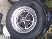 I have 4 Buick Leasabre rims w/tires for $100.00
