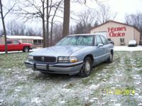 I am offering my 1995 Buick Park Ave 4 dr. sedan.If you