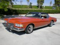 1973 Buick Riviera 2 Door in Burnt Coral with a saddle