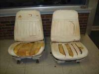 These are rebuildable bucket seats out of a 1971