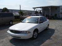 1996 Buick Skylark 4 dr, 147K, V6 that runs strong and