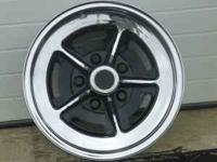 "Factory set of 1970 buick gs 14"" chrome rally wheels."