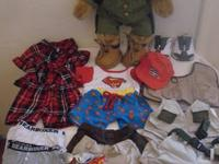 New Build a Bear : plus US Army uniform, top, shorts