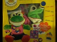 This is a Build A Bear Frog comes with everything you