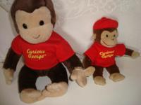 UP FOR SALE: Curious George and little Curious George