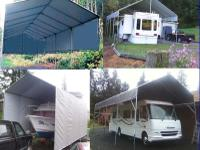 ��� Build a Portable Carport Shelter for less!  STOP