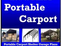 Build-Your-Own Portable Carport (EBook) STOP Weather
