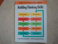 I have a Building Thinking Skills book that has the
