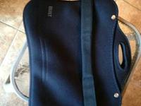 I have a BUILT Portfolio Neoprene Bag with  Padded