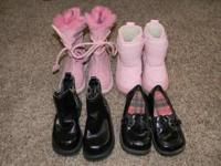 All are size 7, toddler. $3 each for the black ones, &