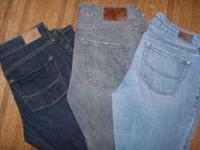 Like new Bullhead Jeans as pictured left to right:
