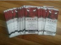 Bulls Tickets Vs Atlanta Hawks Oct. 16th 7:00pm $40 a