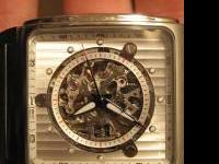 Beautiful Bulova watch. You can see the insides of the