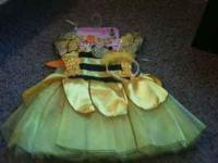 I am selling 2 bumble bee costumes both with tags for