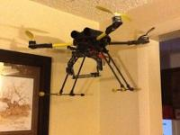 This is a heavy lifter drone with electronic camera
