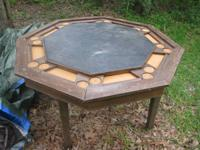 For Sale is a Table that the leading flips over to make