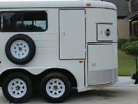 Hale horse trailer perfect for ponies small horses.