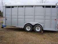 WARM BLOOD SIZE WITH WALK IN TACK AREA. asking $5800.