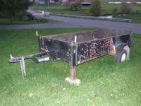 5 foot by 8 foot bumper pull trailer pa inspected