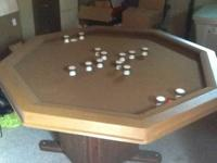 I have a bumper swimming pool table that is in fair
