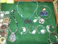 I have a whole bunch of costume jewelry, real jewelry