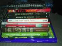 12 used books for sale. Great summer reading or regular