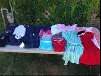 Used but in good condition. Bundle includes: 4 dresses,