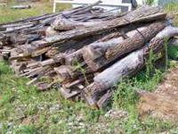 We have large bundles of slab wood from our sawmill.
