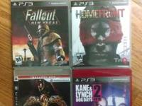 ps3 games all good condition no problems. I am selling