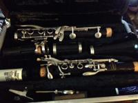 Bundy Bb Clarinet with Case New Pads and Corks