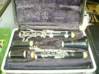 I have a nice used Bundy Clarinet for $50 call at