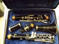 Bundy Clarinet Resonite in case . Please call  between