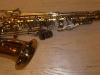Bundy II Saxophone in Great Shape, with case; circa.
