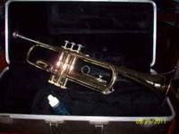 Gently used Bundy trumpet with case. Asking $100. Great