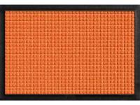 Commercial grade slip resistant SBR rubber backing.