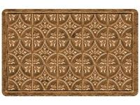 Multi Color 18 in. x 27 in. Neoprene Tin Tile Bronze